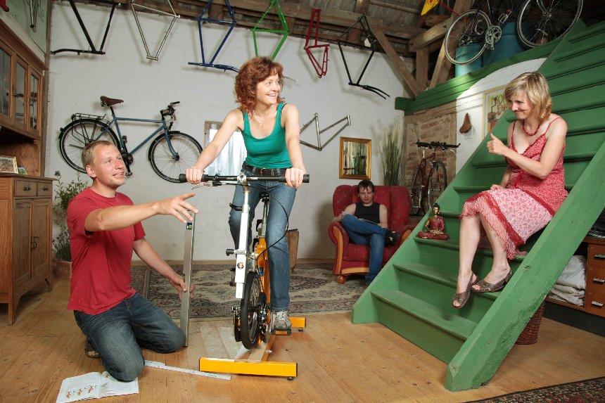 Ergonomie am Fahrrad