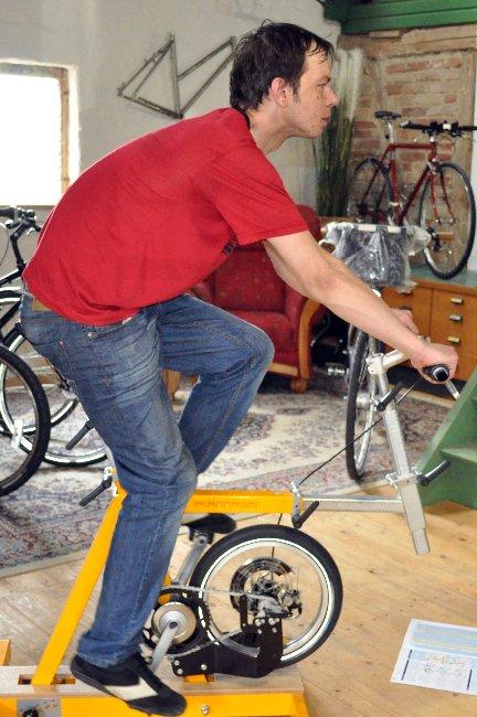 Ergonomie auf dem Fahrrad   -Rundrücken-