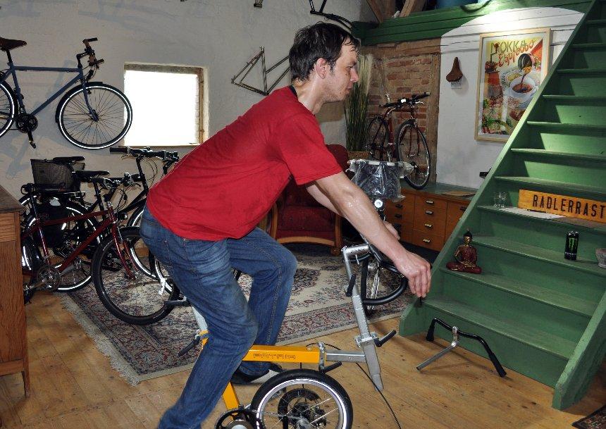 Ergonomie auf dem Fahrrad